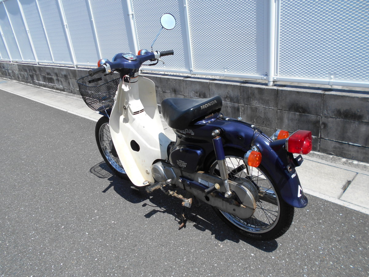 「絶版廃盤旧車ホンダカブC70DX12Vmade-in-japan趣味のバイクマニア館ギフトップトレ-ディング」の画像2