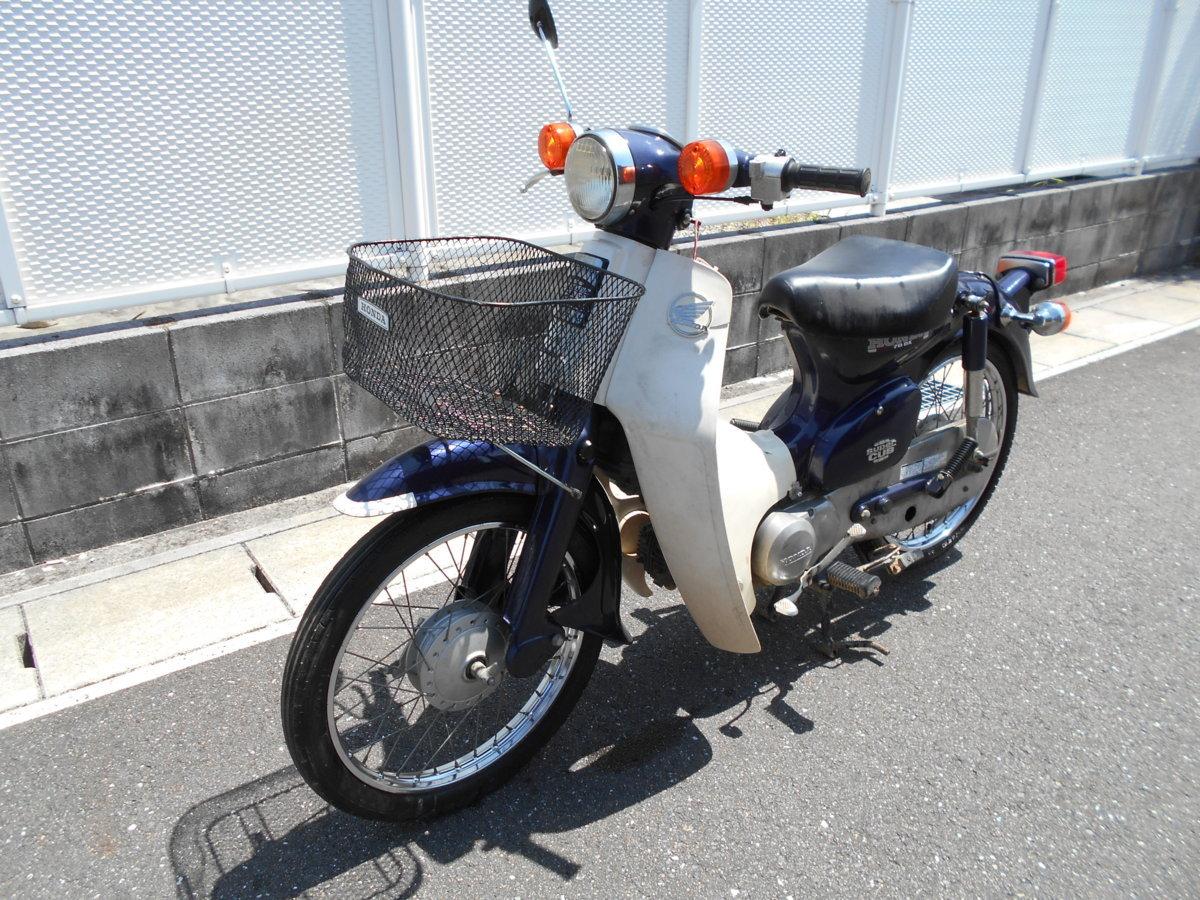 「絶版廃盤旧車ホンダカブC70DX12Vmade-in-japan趣味のバイクマニア館ギフトップトレ-ディング」の画像1