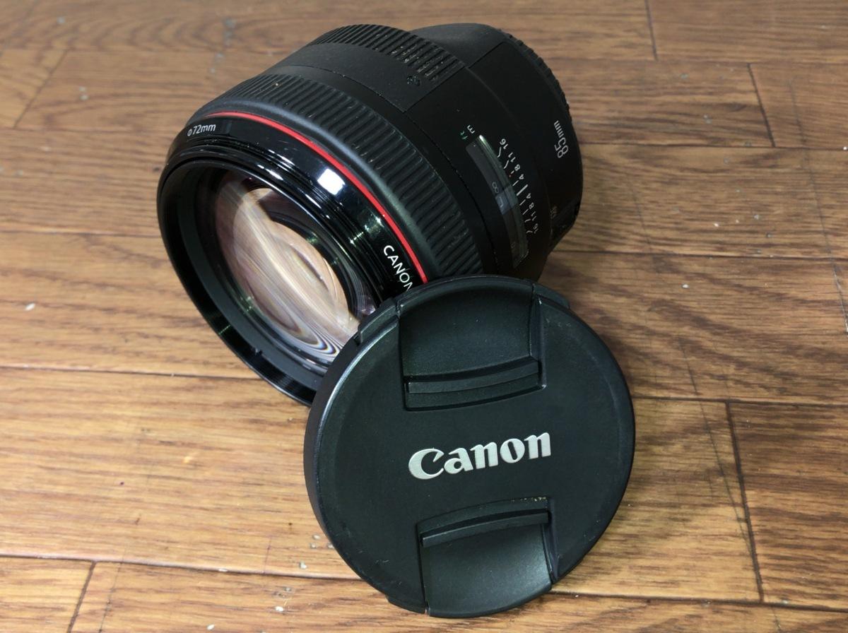B073A015●CANON キヤノン EF 85mm F1.2L II USM 単焦点 レンズ