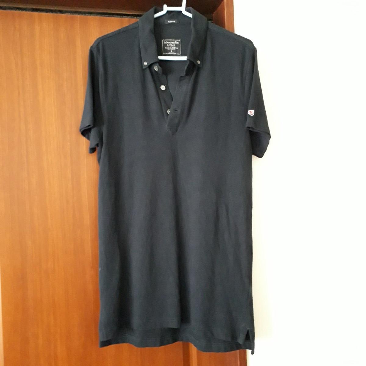 アバクロ Abercrombie&Fitch ポロシャツ メンズ