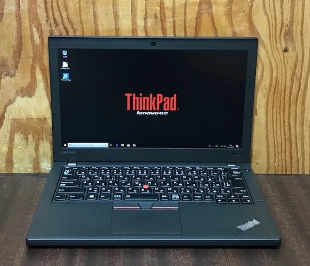 ★★超高速 Lenovo Thinkpad X260/i5-6300U/メモリ8GB/SSD256GB/FULL HD/カメラ/Win10★★