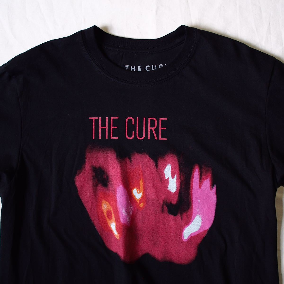 Official [The Cure] L キュアー Tシャツ バンド Nirvana Blur Oasis The Smiths joy division Stone Roses Pixies Dinosaur Jr R.E.M._画像2