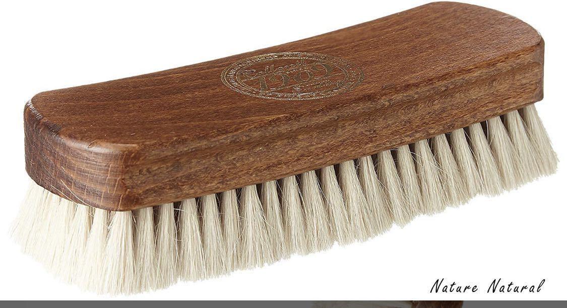 コロニル 1909 FINE POLISHING BRUSH ファインポリシングブラシ 山羊毛ブラシ 靴磨き_画像2