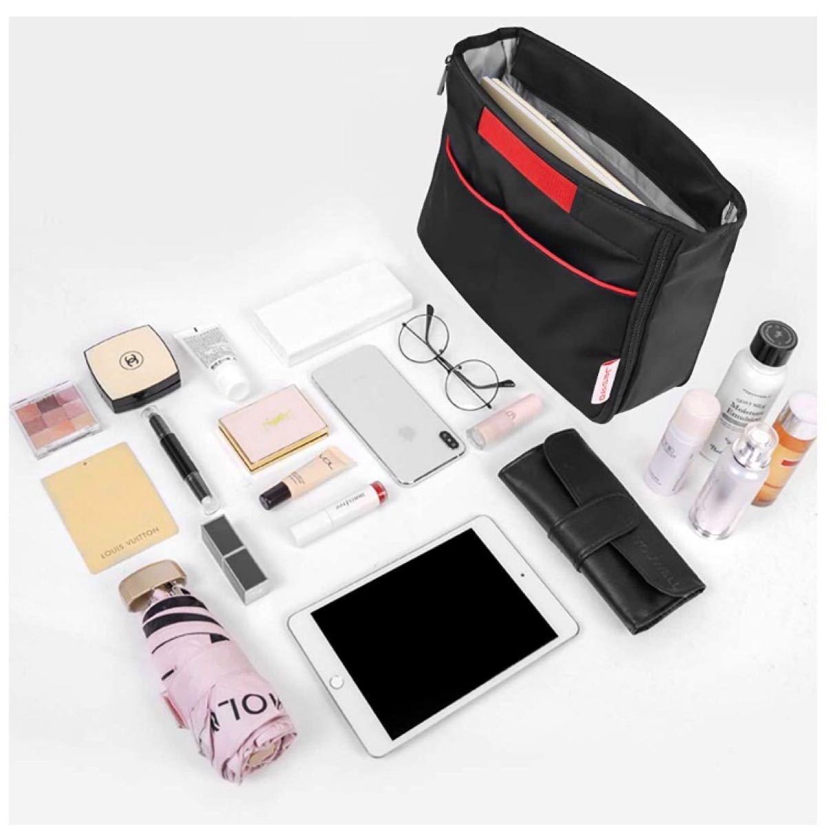 【新品】バッグインバッグ 軽量 インナーバッグ 拡張可能 トートバック用 大容量