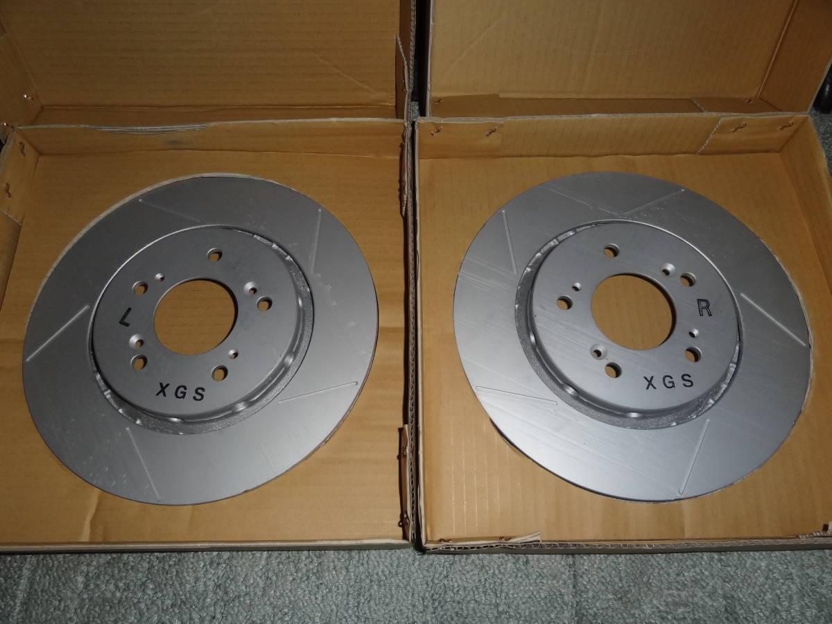 新品 mugen 無限 AGBSブレーキローター 左右セット AP1/AP2 S2000 brakeroter R/L_画像1