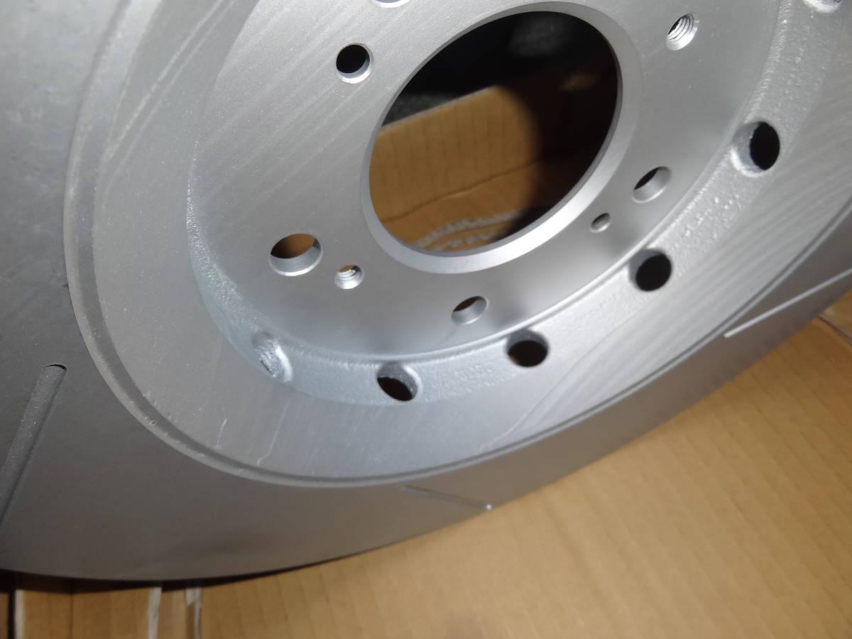 新品 mugen 無限 AGBSブレーキローター 左右セット AP1/AP2 S2000 brakeroter R/L_画像3