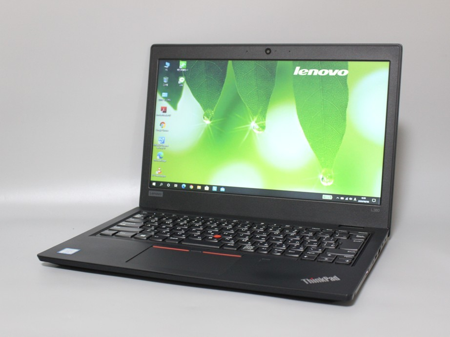 ★1円~ Office2016 Lenovo ThinkPad L380■極速4コアCore i5 8350U メモリ8GB SSD256GB Bluetooth カメラ WiFi Windows10 初期設定済み