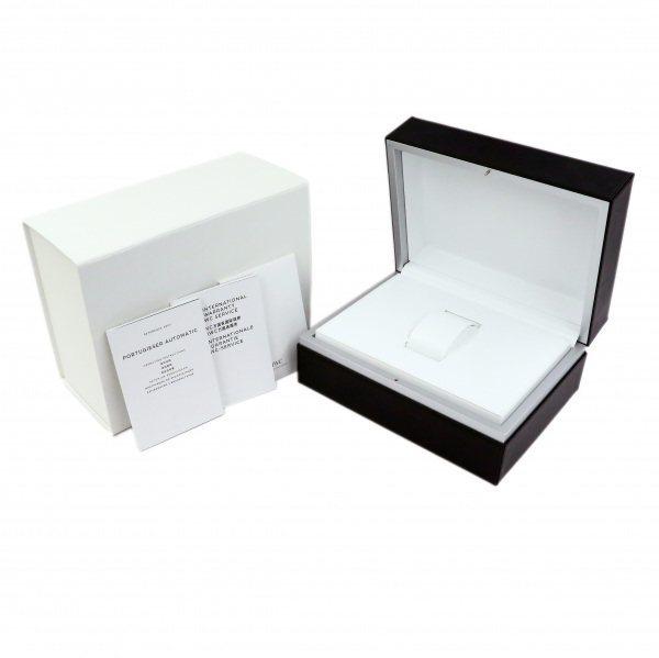 IWC ポルトギーゼ オートマティック 7デイズ IW500710 ブルー文字盤 中古 腕時計 メンズ_画像9