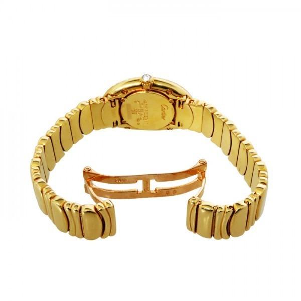 カルティエ Cartier ベニュワール ベゼルダイヤ ゴールド文字盤 中古 腕時計 レディース_画像4