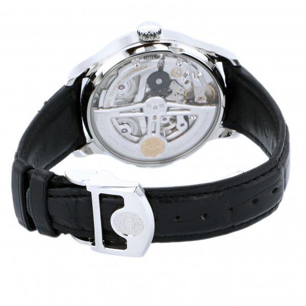 IWC ポルトギーゼ オートマティック 7デイズ IW500710 ブルー文字盤 中古 腕時計 メンズ_画像5