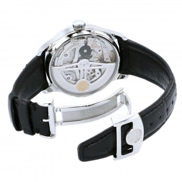IWC ポルトギーゼ オートマティック 7デイズ IW500710 ブルー文字盤 中古 腕時計 メンズ_画像6