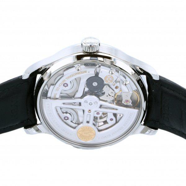 IWC ポルトギーゼ オートマティック 7デイズ IW500710 ブルー文字盤 中古 腕時計 メンズ_画像7