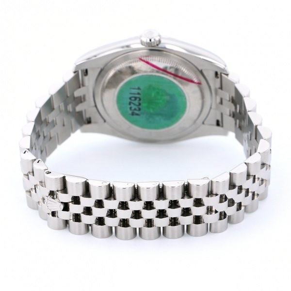 ロレックス ROLEX デイトジャスト 116234 ブラックローマ文字盤 中古 腕時計 メンズ_画像5