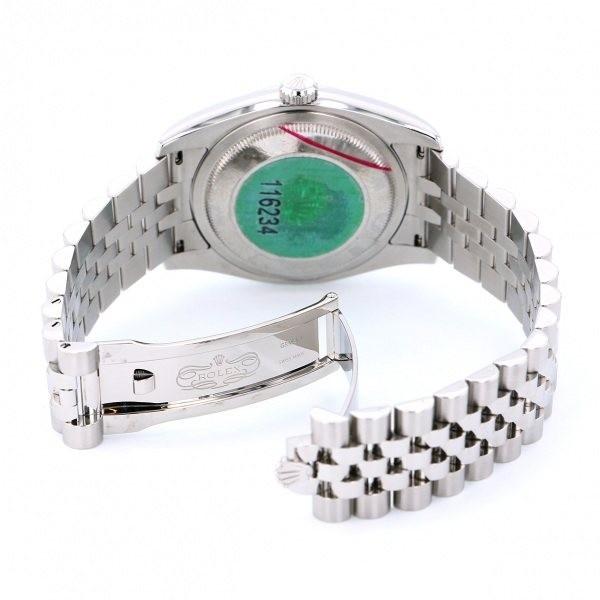 ロレックス ROLEX デイトジャスト 116234 ブラックローマ文字盤 中古 腕時計 メンズ_画像6
