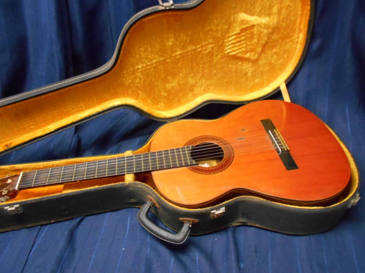 TJ-66 送料無料『KODAIRA GUT GUITAR no.180』 コダイラ クラシックギター ハードケース付き_画像1