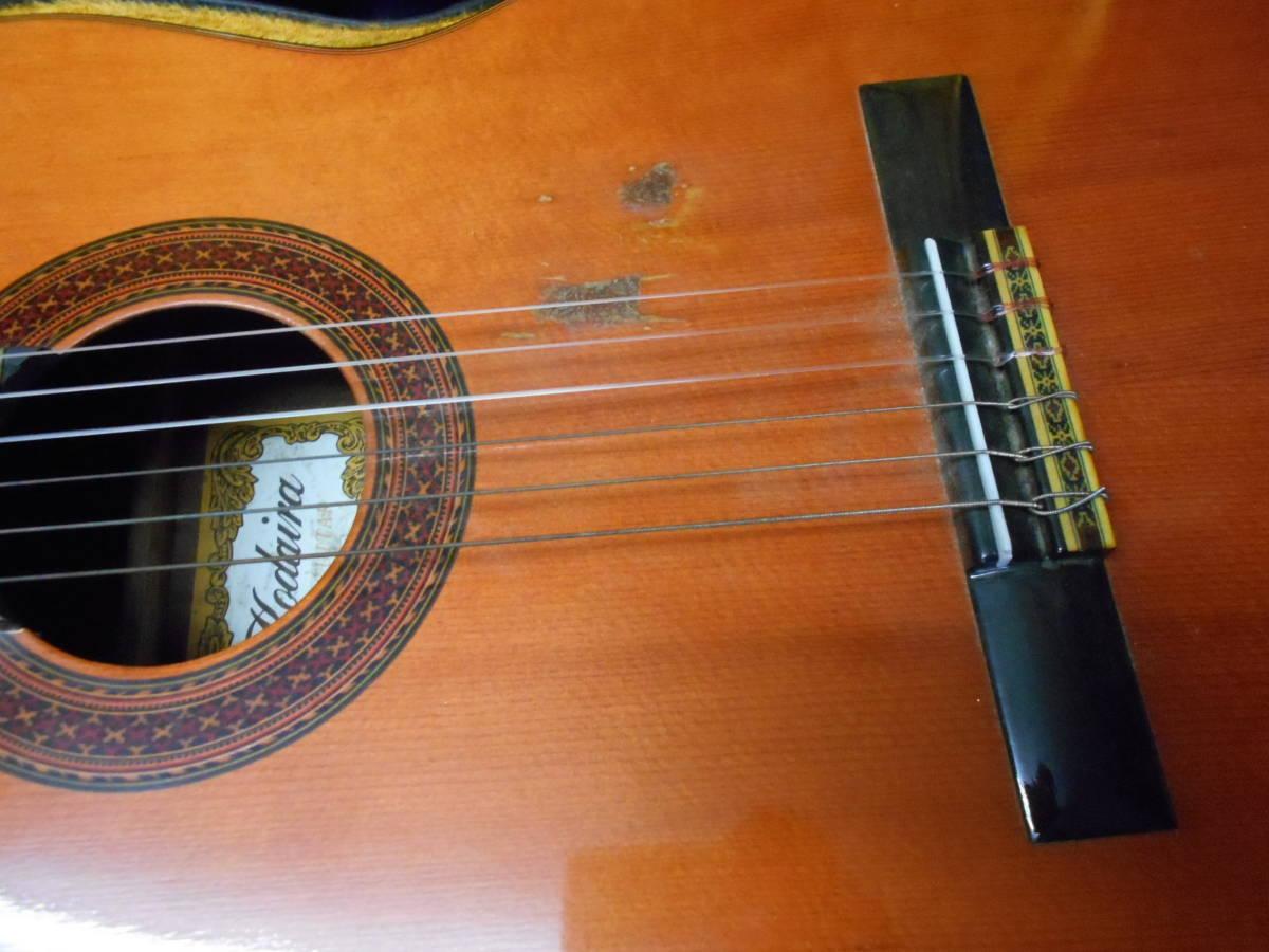 TJ-66 送料無料『KODAIRA GUT GUITAR no.180』 コダイラ クラシックギター ハードケース付き_画像3