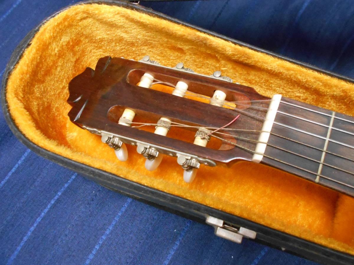 TJ-66 送料無料『KODAIRA GUT GUITAR no.180』 コダイラ クラシックギター ハードケース付き_画像4