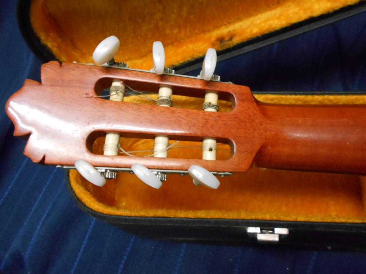 TJ-66 送料無料『KODAIRA GUT GUITAR no.180』 コダイラ クラシックギター ハードケース付き_画像7
