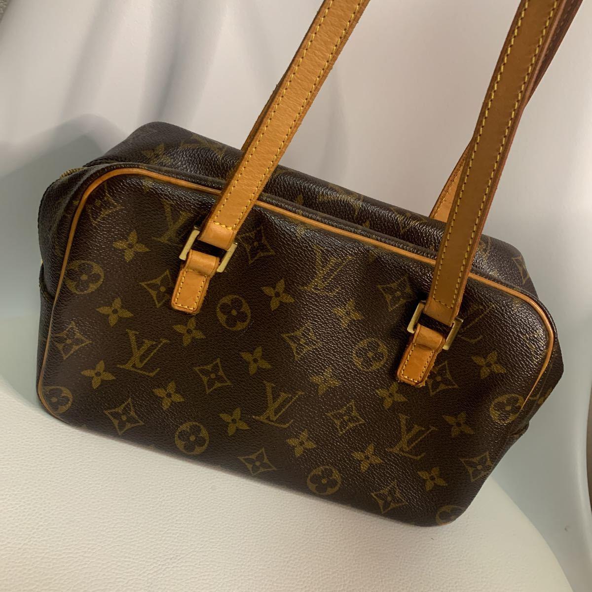 極美品ルイ・ヴィトン Louis Vuitton シテ MM 肩掛け ショルダーバッグ モノグラム ブラウン M51182 レディース FL0052