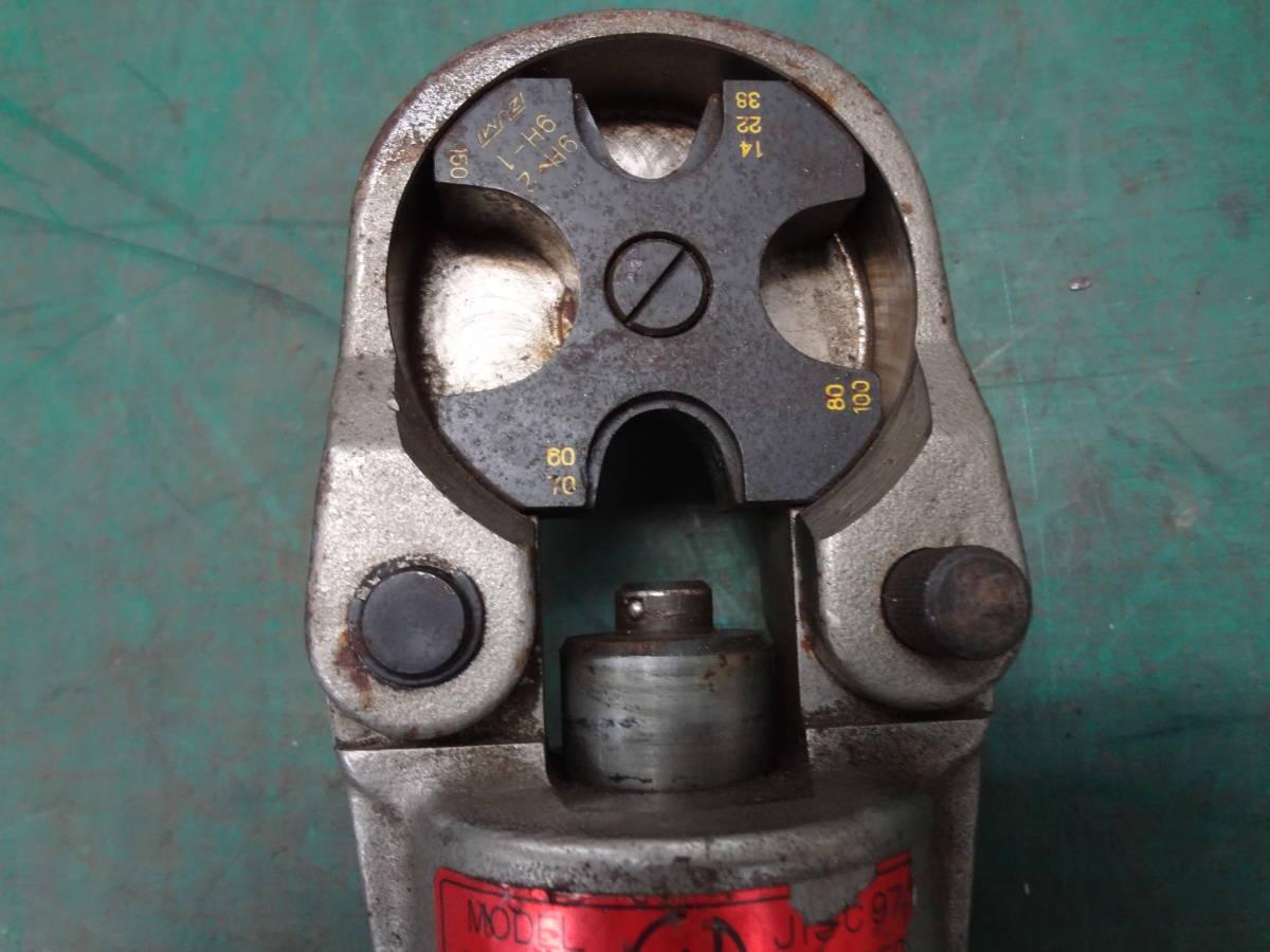 ● IZUMI 泉精器製作所 圧着端子用 手動油圧式圧着工具 9H-150  イズミ ●9_画像5