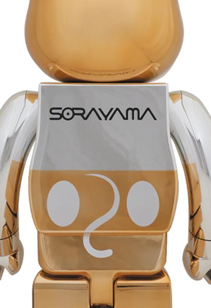 空山基/SORAYAMA FUTURE MICKEY MOUSE ベアブリック/BE@RBRICK 1000%(メディコムトイ・フィギュア・ミッキーマウス・ディズニー/Disney)_※参考画像