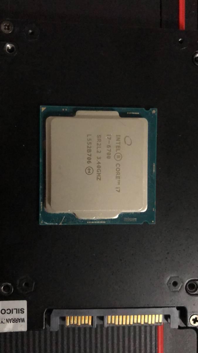 Intel Core I7 6700 LGA1151 中古分解品