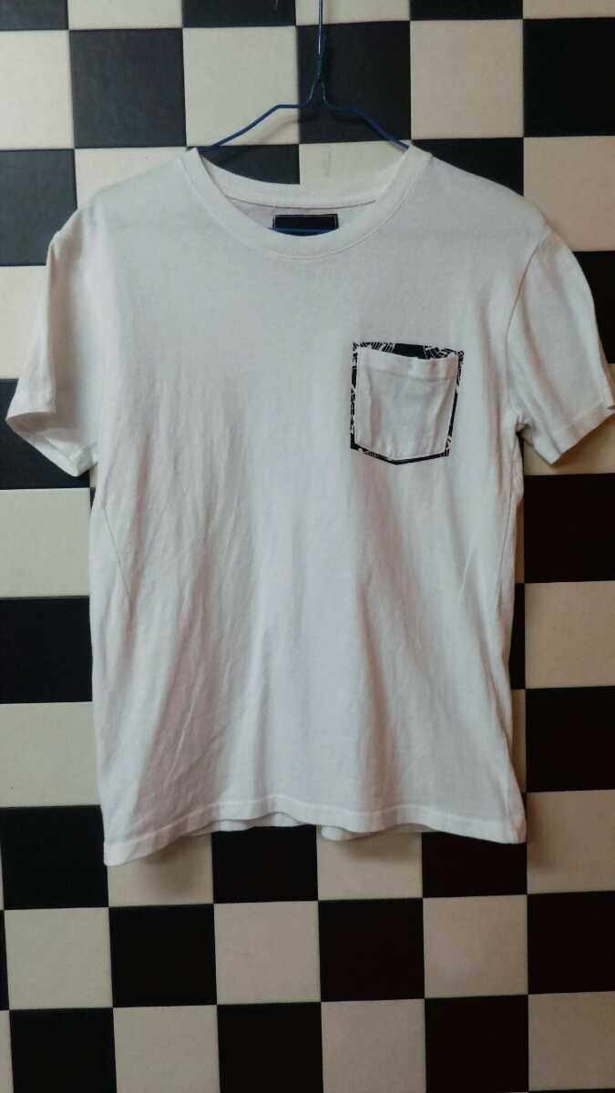 ロックスタイルナンバーナイン音符柄ポケットTシャツ