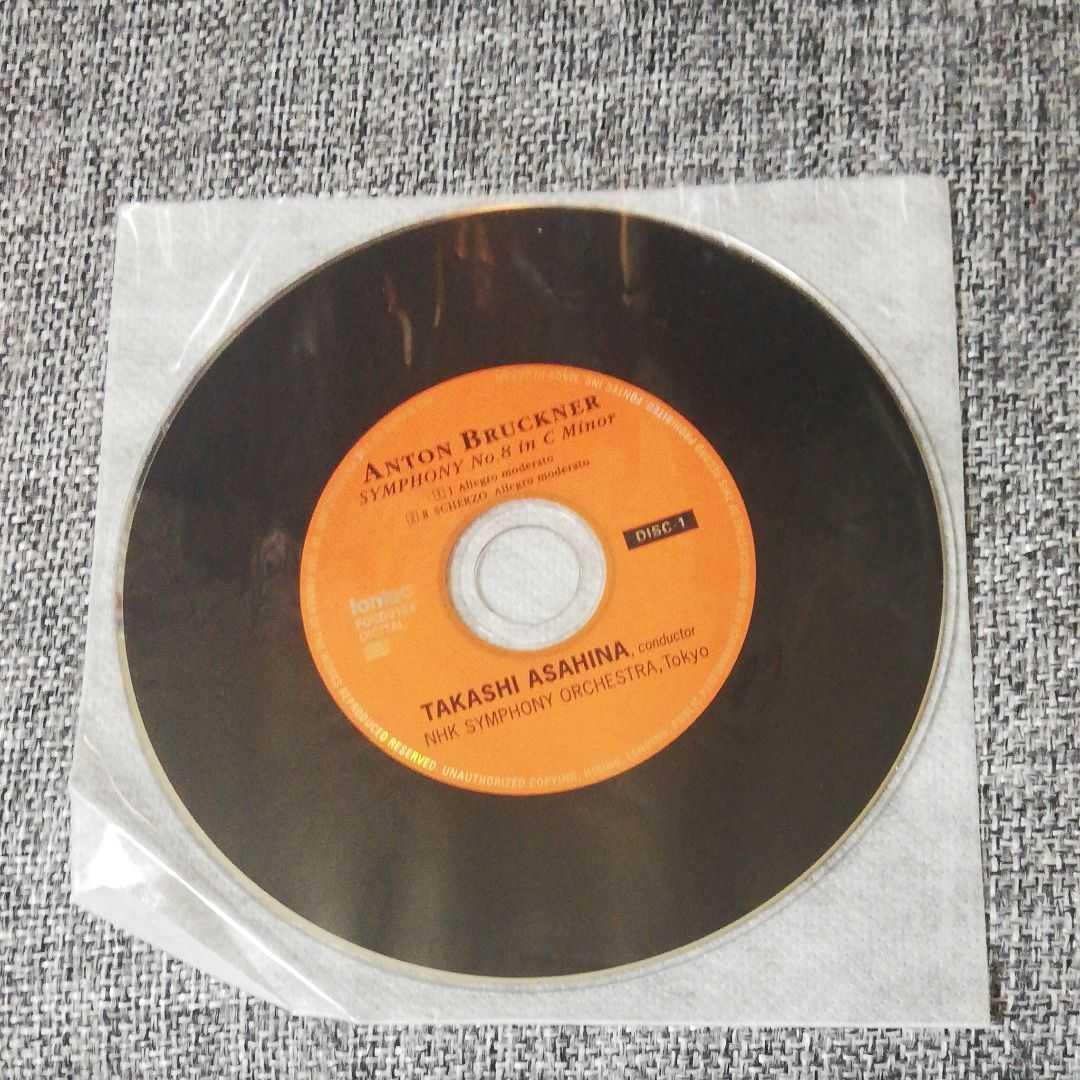 【2CD】ブルックナー:交響曲第8番 朝比奈隆/NHKso._画像4