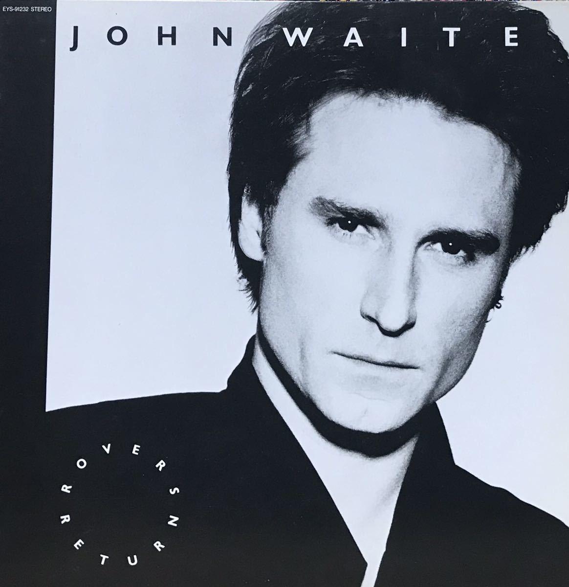 見本盤 JOHN WAITE / ROVER'S RETURN アルバム 12inchサイズのレコード その他にもプロモーション盤 レア盤 人気レコード 多数出品中_画像1
