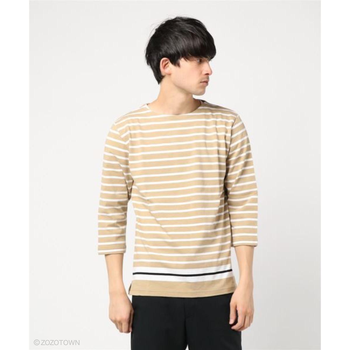 【nano・universe】 Tシャツ カットソー 長袖 メンズ