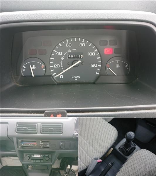 「福島発 H2 ホンダ アクティトラック HA4 SDX 4WD 5速マニュアル 抹消出品 売切!!」の画像3