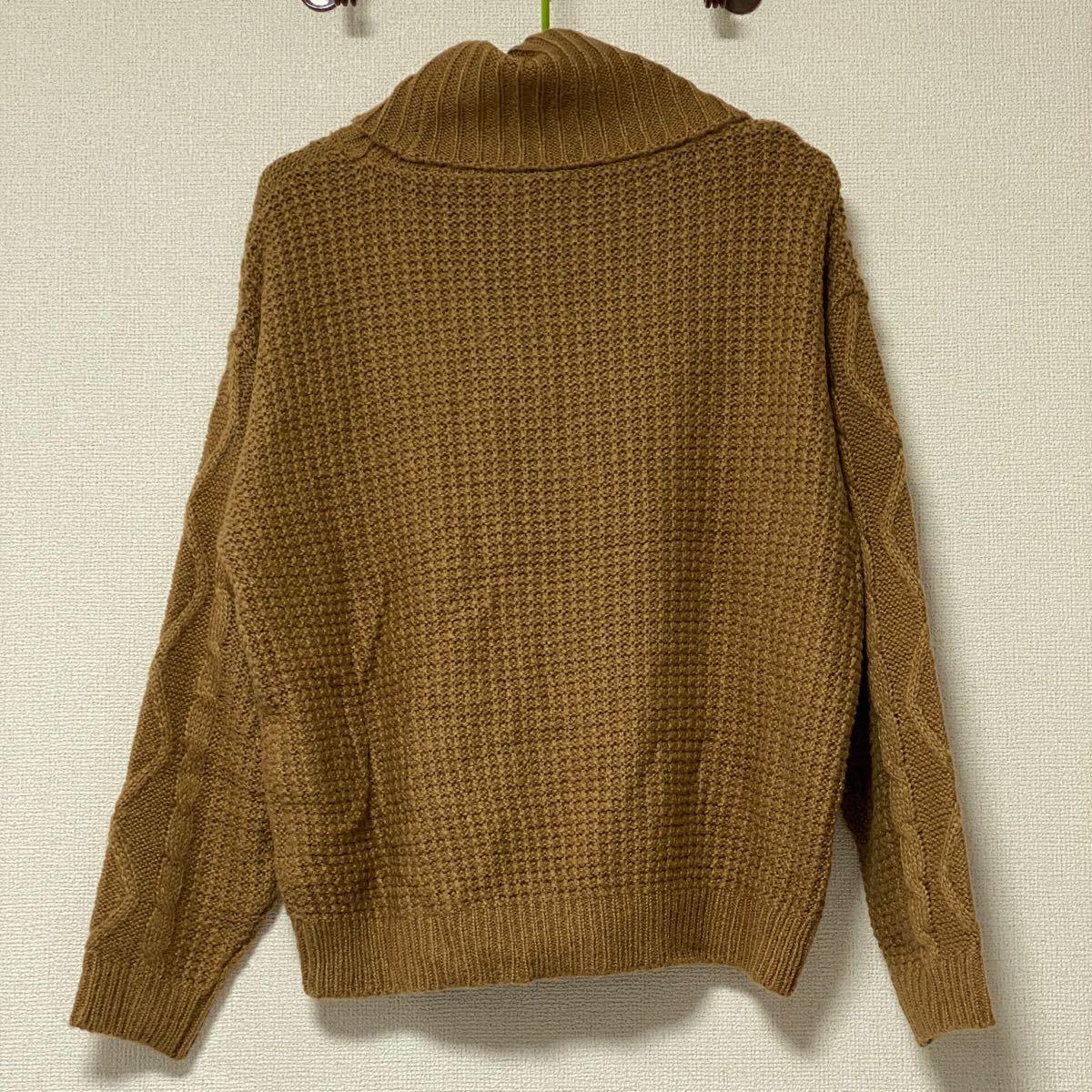 セーター ニットセーター ケーブル編み