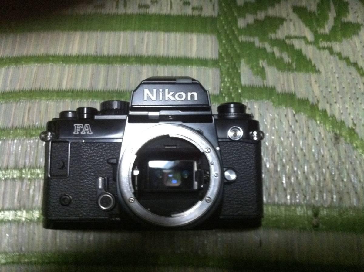 Nikon FA 本体のみ ジャンク品_画像1