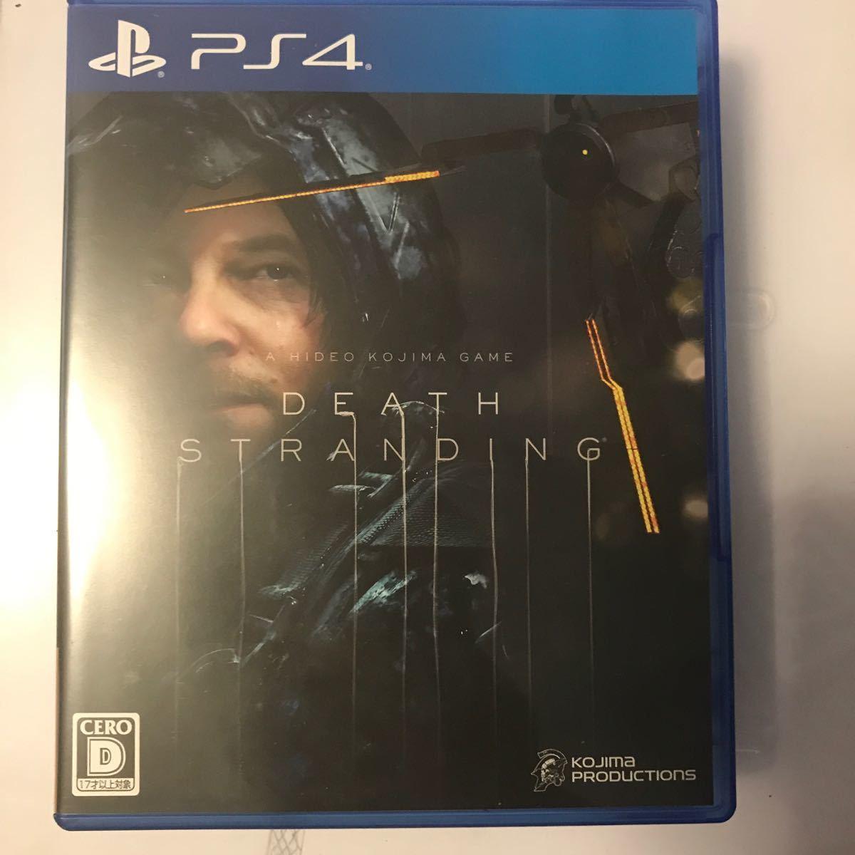 【PS4】 DEATH STRANDING D指定