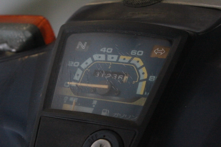 TB526ホンダ スーパーカブ C70-8659914◇2-1237/ 走行31236km◇ジャンク/HONDA/第二種原動機付自転車/バイク/現状で/古道具タグボート_画像9