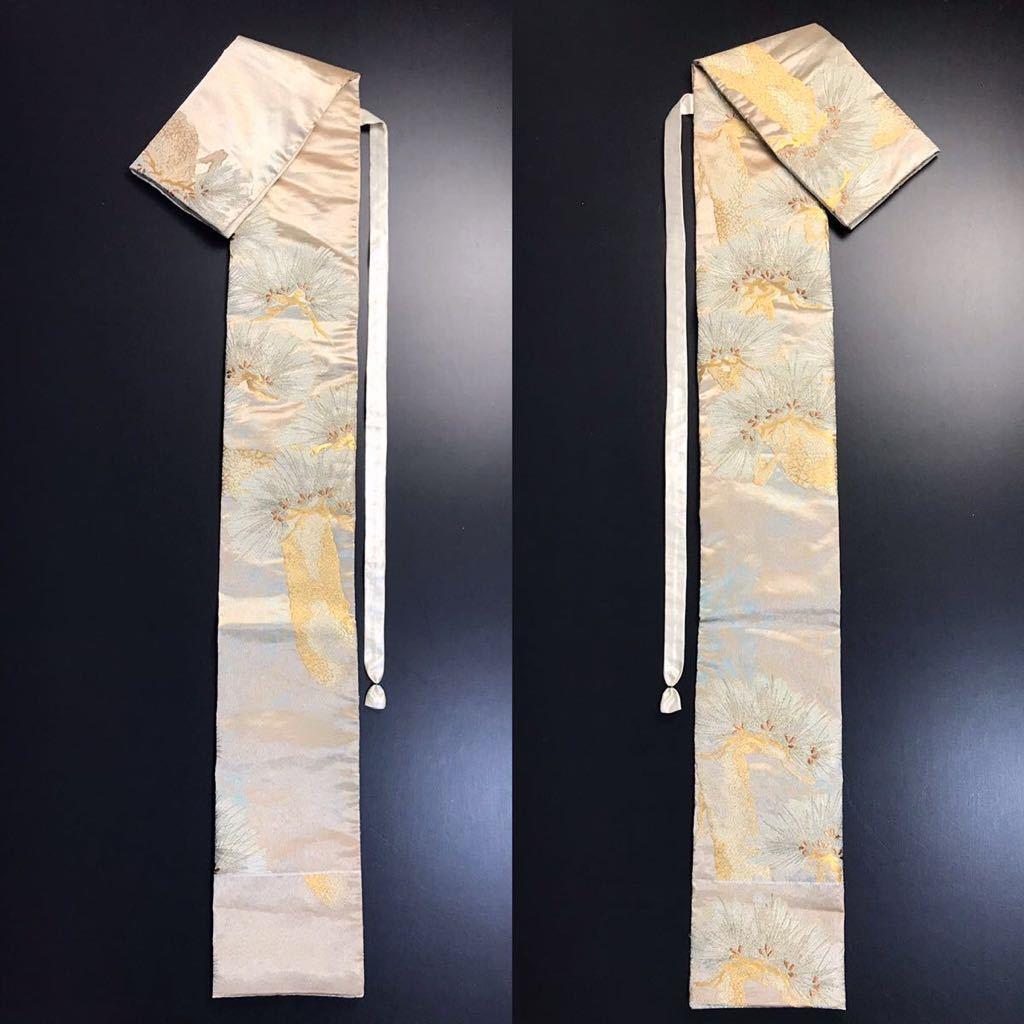 限定2本 日本刀 太刀 刀 刀袋 佐賀錦 老松紋 職人ハンドメイド 100% 正絹使用 一点物 N-27_画像9