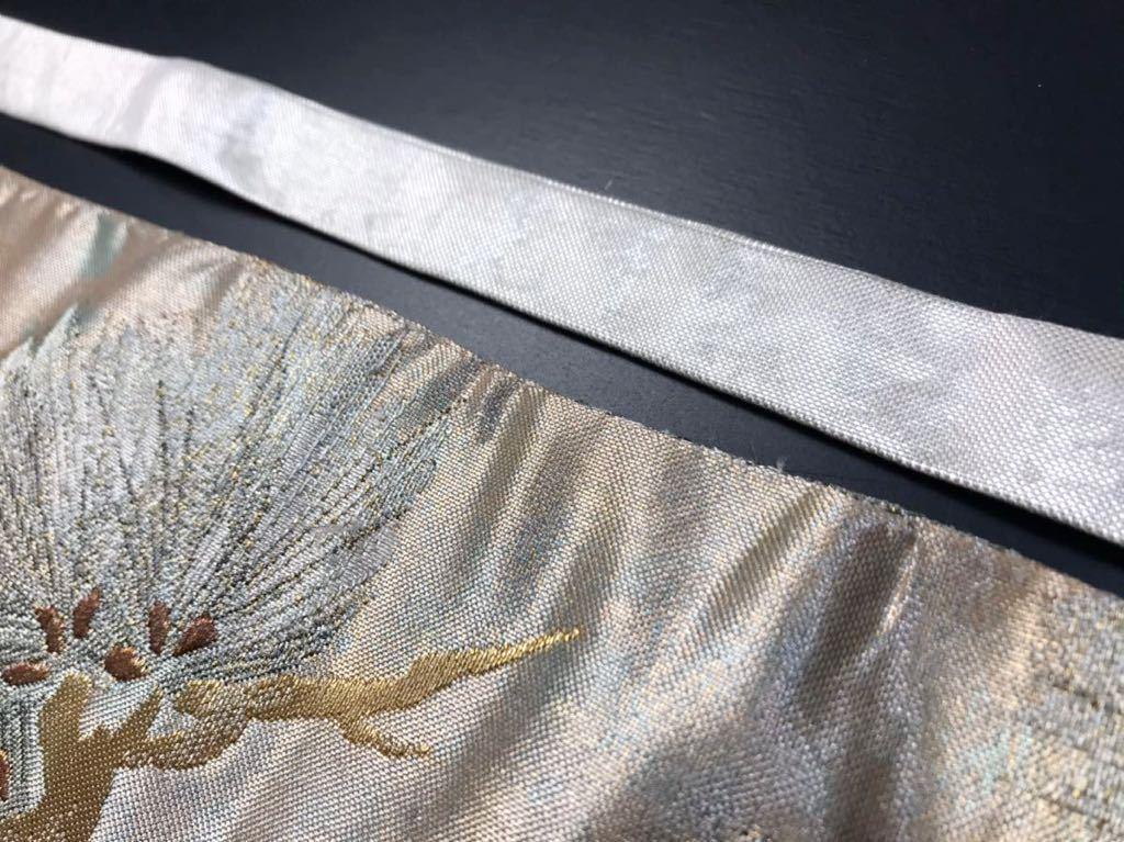 限定2本 日本刀 太刀 刀 刀袋 佐賀錦 老松紋 職人ハンドメイド 100% 正絹使用 一点物 N-27_画像10