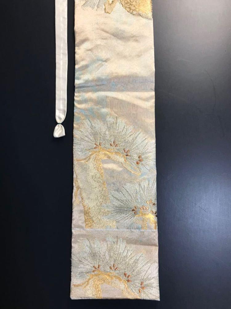 限定2本 日本刀 太刀 刀 刀袋 佐賀錦 老松紋 職人ハンドメイド 100% 正絹使用 一点物 N-27_画像8