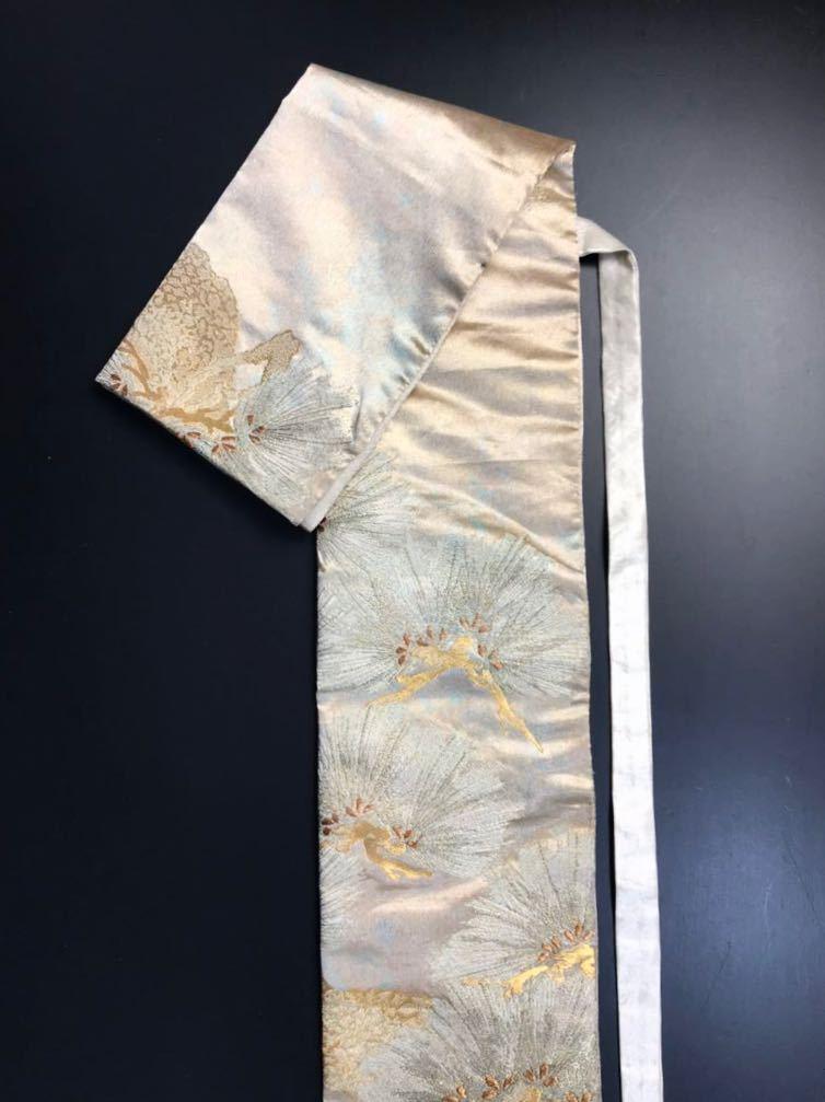 限定2本 日本刀 太刀 刀 刀袋 佐賀錦 老松紋 職人ハンドメイド 100% 正絹使用 一点物 N-27_画像3