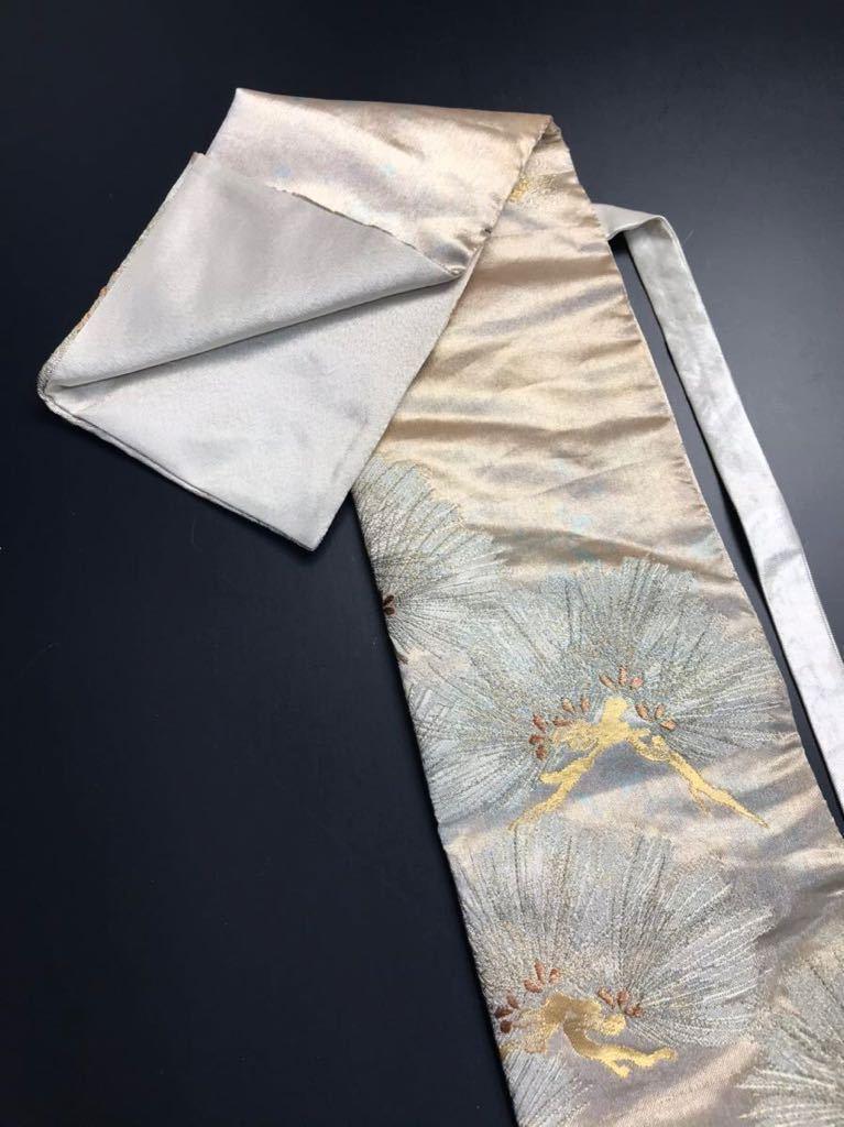 限定2本 日本刀 太刀 刀 刀袋 佐賀錦 老松紋 職人ハンドメイド 100% 正絹使用 一点物 N-27_画像2