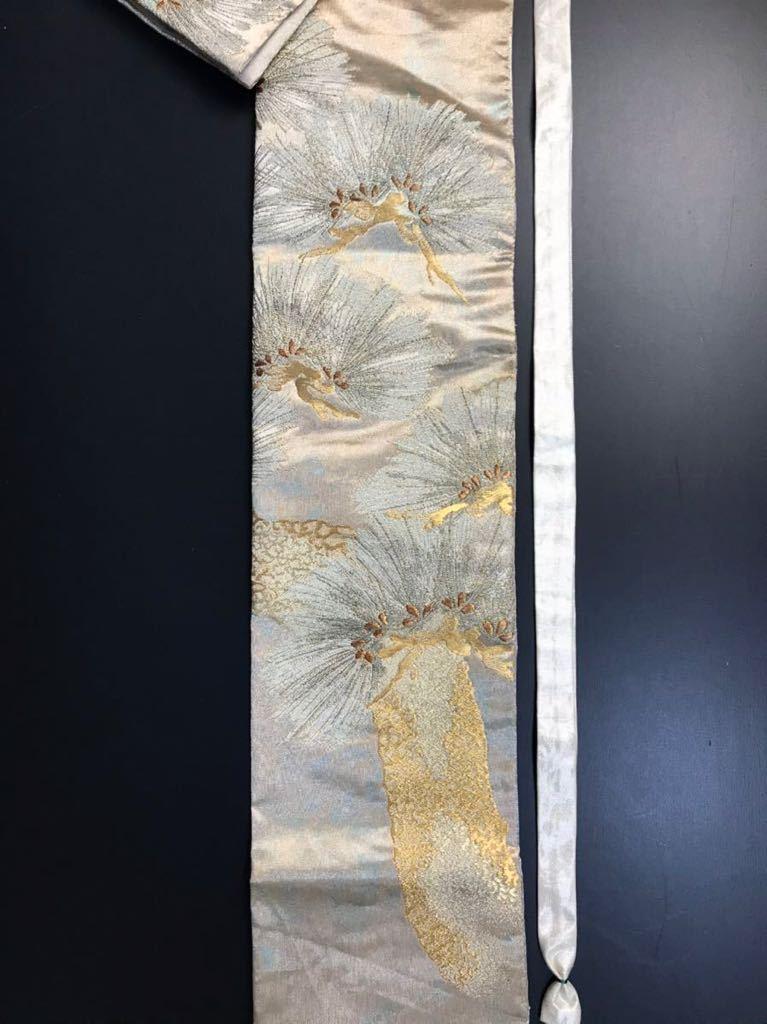 限定2本 日本刀 太刀 刀 刀袋 佐賀錦 老松紋 職人ハンドメイド 100% 正絹使用 一点物 N-27_画像4