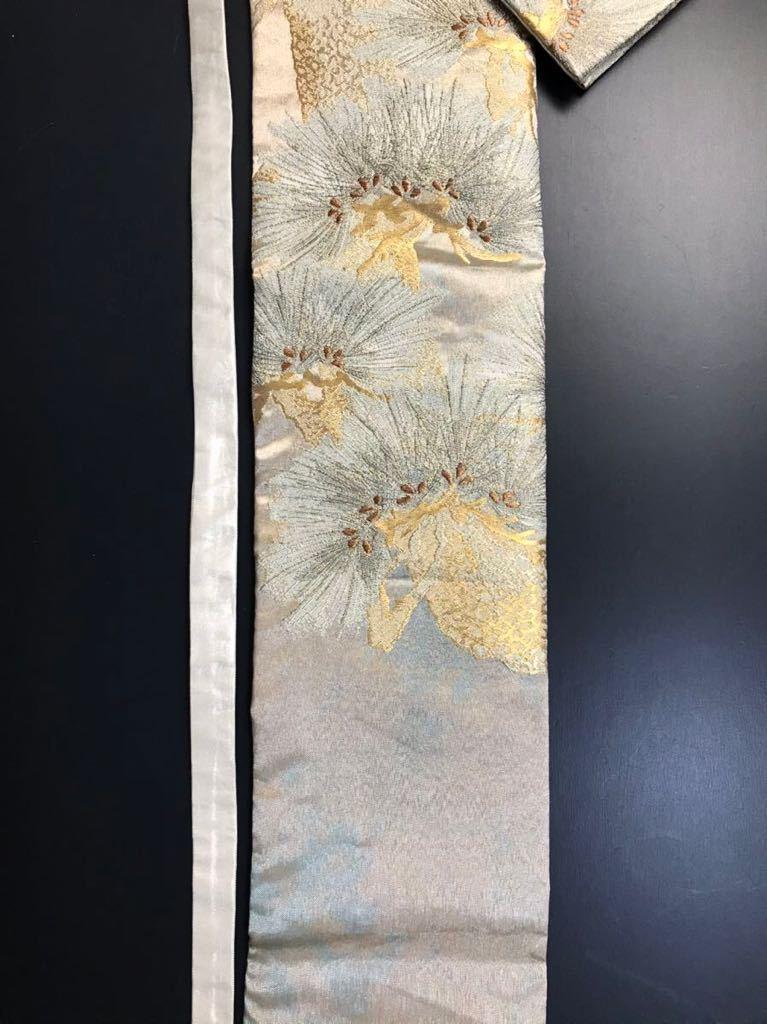 限定2本 日本刀 太刀 刀 刀袋 佐賀錦 老松紋 職人ハンドメイド 100% 正絹使用 一点物 N-27_画像7