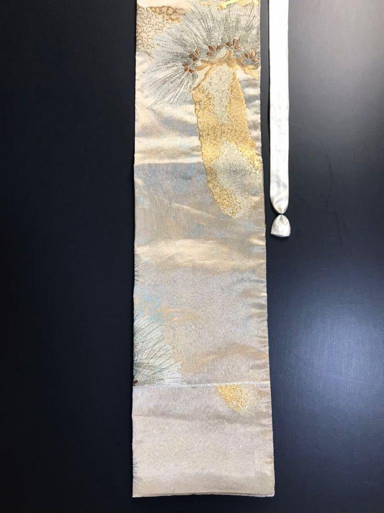 限定2本 日本刀 太刀 刀 刀袋 佐賀錦 老松紋 職人ハンドメイド 100% 正絹使用 一点物 N-27_画像5