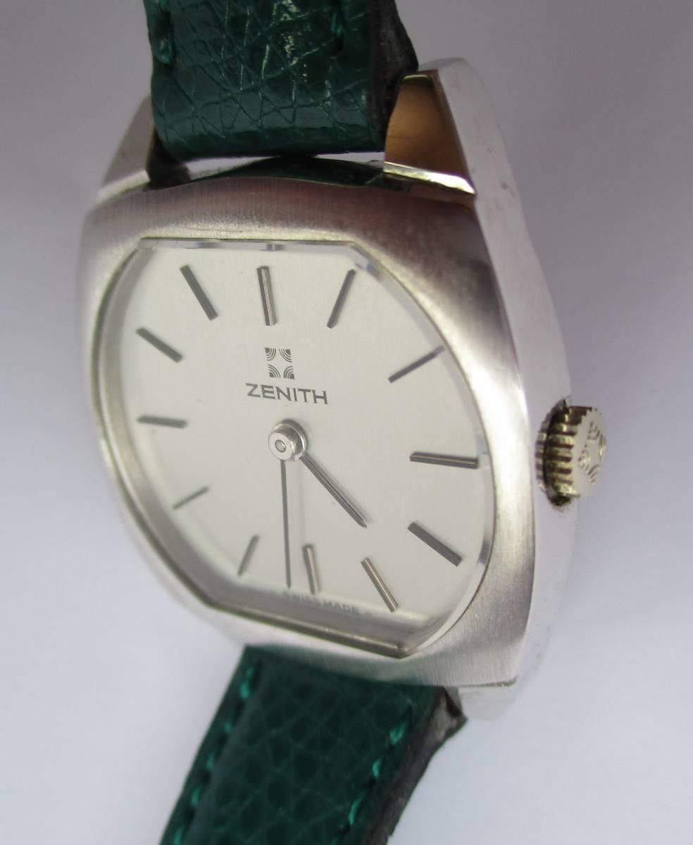 ZENITH 여성용 수동 와인딩 시계 앤티크 브랜드 시계 & Sayuki & Zenith