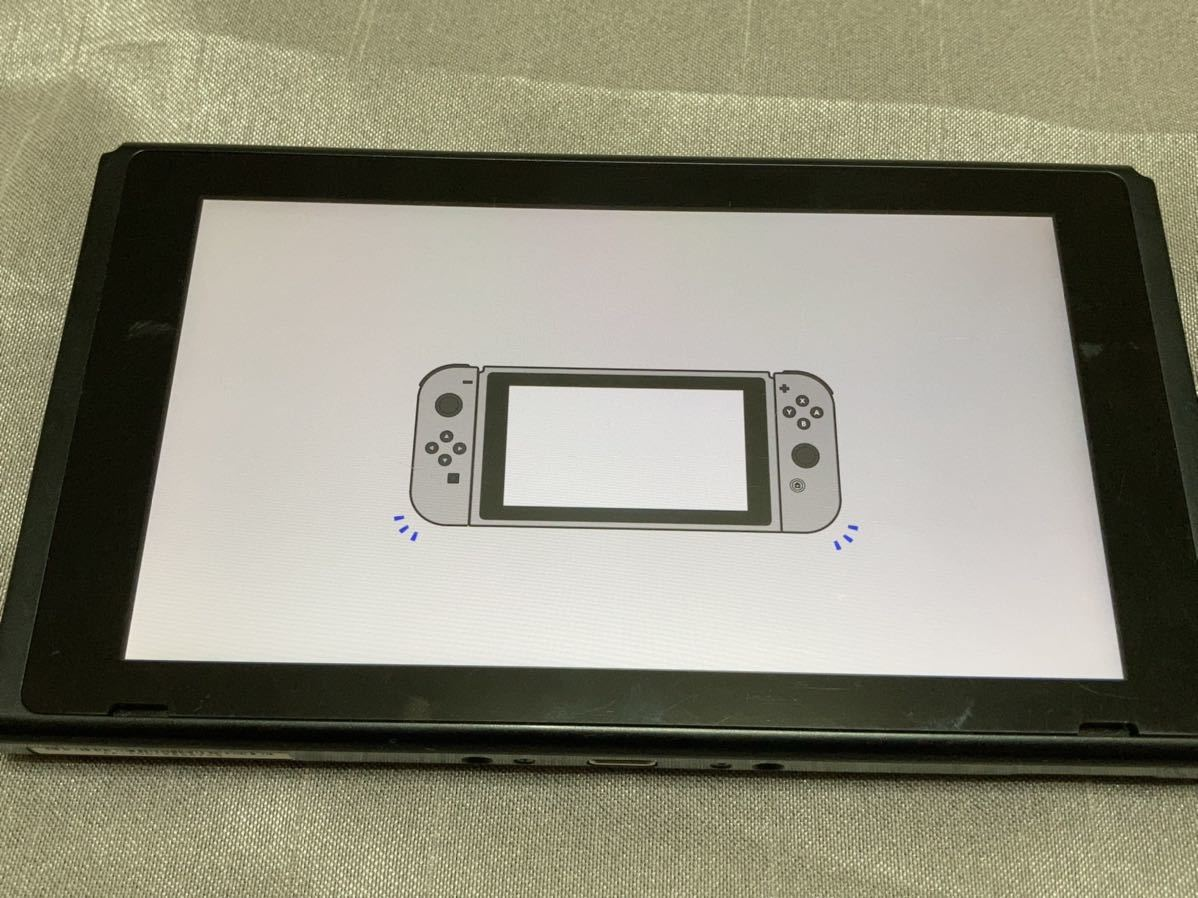 送料無料 未対策機 Nintendo ニンテンドー 任天堂 Switch スイッチ 本体のみ 17年製