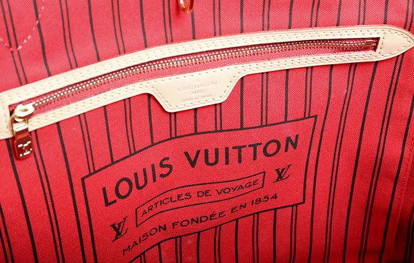 LOUIS VUITTON/ルイヴィトン モノグラム ネヴァーフルMM M41177 トートバッグ 新品同様品!!_画像7