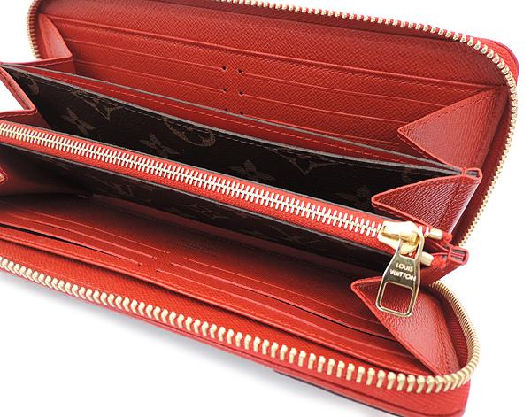 【美品】Louis Vuitton/ルイ ヴィトン ジッピー・ウォレット レティーロ 長財布 ファスナータイプ モノグラム・キャンバス カーフレザー_画像4