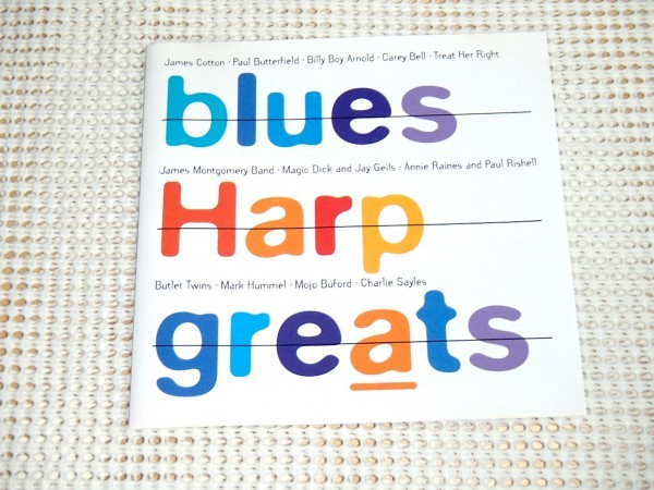 廃盤 Blues Harp Greats / James Cotton Charlie Sayles George Mojo Buford Carey Bell James Montgomery Band 等収録 ブルース コンピ