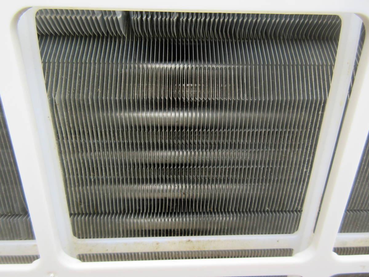 2017年製▽パナソニック Eolia 20畳用ルームエアコン CS-UX637C2-W△インバーター冷暖房除湿タイプ / 寒冷地エアコン▽単相200V△N0000078_画像6