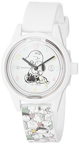 ★売り切れ間近!★[シチズン Q&Q] 腕時計 アナログ スマイルソーラー スヌーピー 防水 ウレタンベルト RP01-806 総_画像1